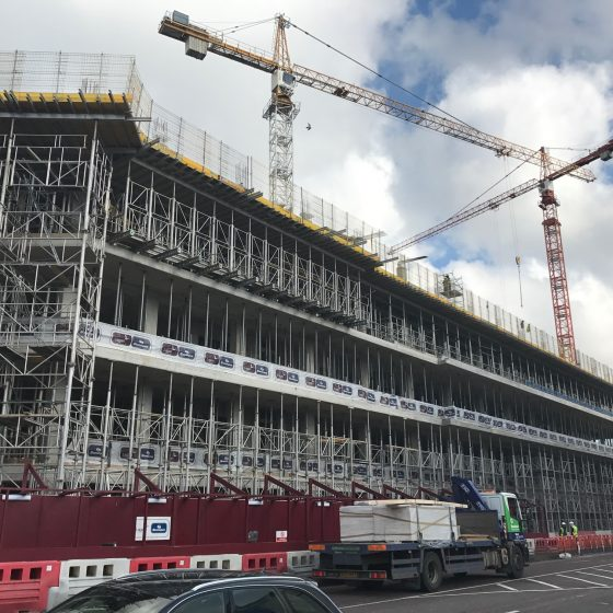university of ulster construction building